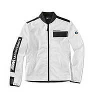 Оригінальна чоловіча куртка BMW M Motorsport Jacket, Colour Block Design (Men, White / Black)