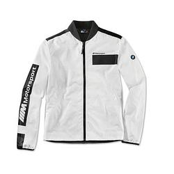 Оригінальна чоловіча куртка BMW M Motorsport Jacket, Colour Block Design (Men, White / Black)