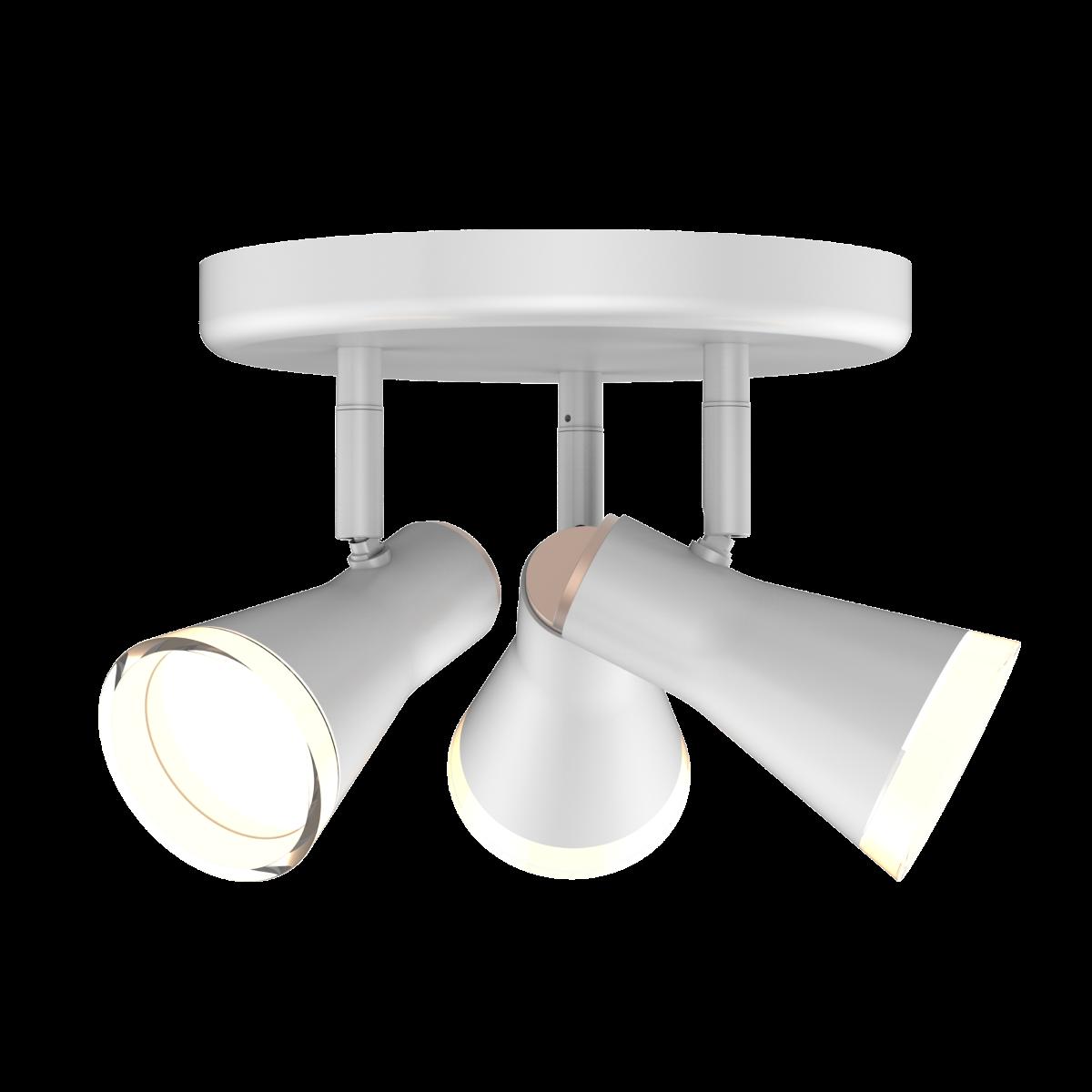 Спотовый светодиодный светильник (бра) MAXUS MSL-02R 3x4W 4100K Белый