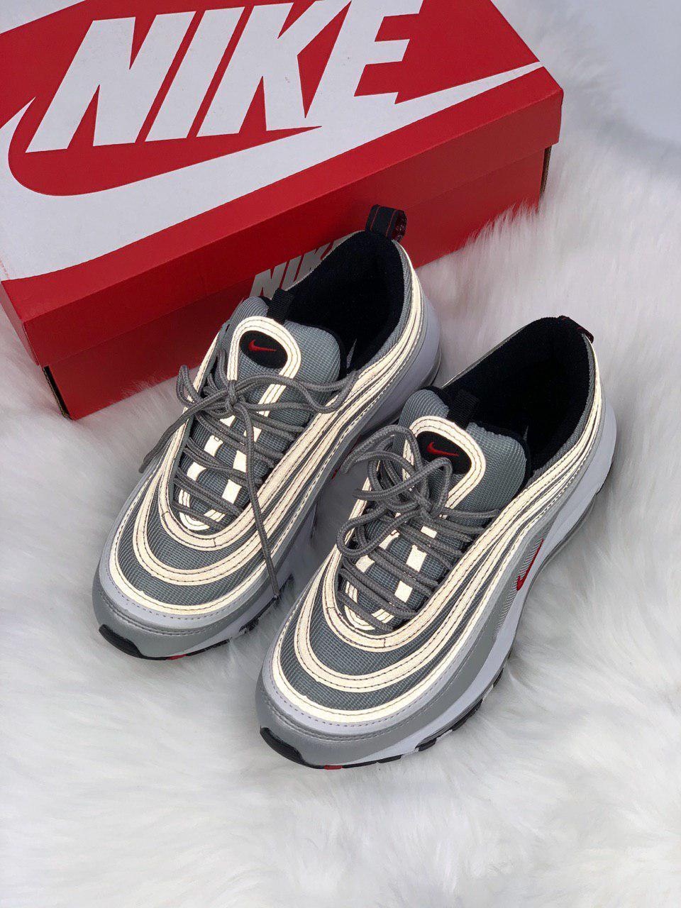 e4dc7417 Кроссовки Nike Air Max 97 Silver Bullet - Интернет магазин обуви «im-РоLLi»