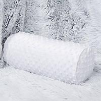 """Плюшевый валик  - подушка """"Снежинка"""" в ассортименте"""