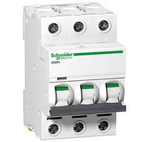 Автоматический выключатель iC60N 3P 1A D Schneider Electric (A9F75301), фото 1