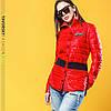 Женская куртка в рубашечном стиле в расцветках. ВС-4-0419, фото 6