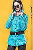 Женская куртка в рубашечном стиле в расцветках. ВС-4-0419, фото 7