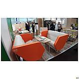 Офисный диван AMF Shell LB оранжевый, фото 2