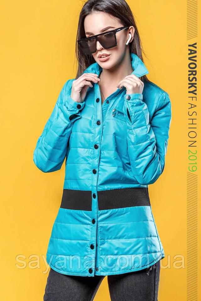 женская молодежная куртка-рубашка