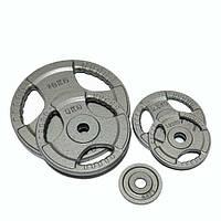 Диск стальной 10 кг FitLogic Hammer, диаметр – 26 мм