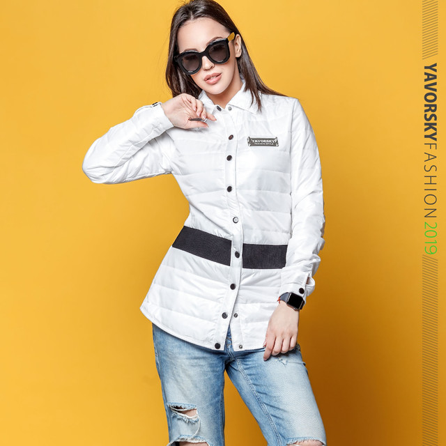 модная куртка-рубашка оптом