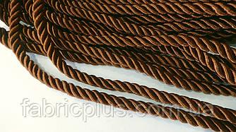 Шнур мебельный 10 мм коричневый