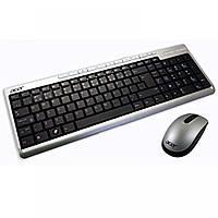 Комплект беспроводной клавиатура и мышь для компьютера Acer SK-9660 SM-9063 (НОВЫЙ)- Б/У