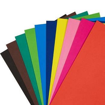 Цветной картон 170 г формат А2 42х60 см.