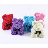 3D Мишка из роз(25 см)! В красивой подарочной упаковке! Мишка Тедди из роз!, фото 1