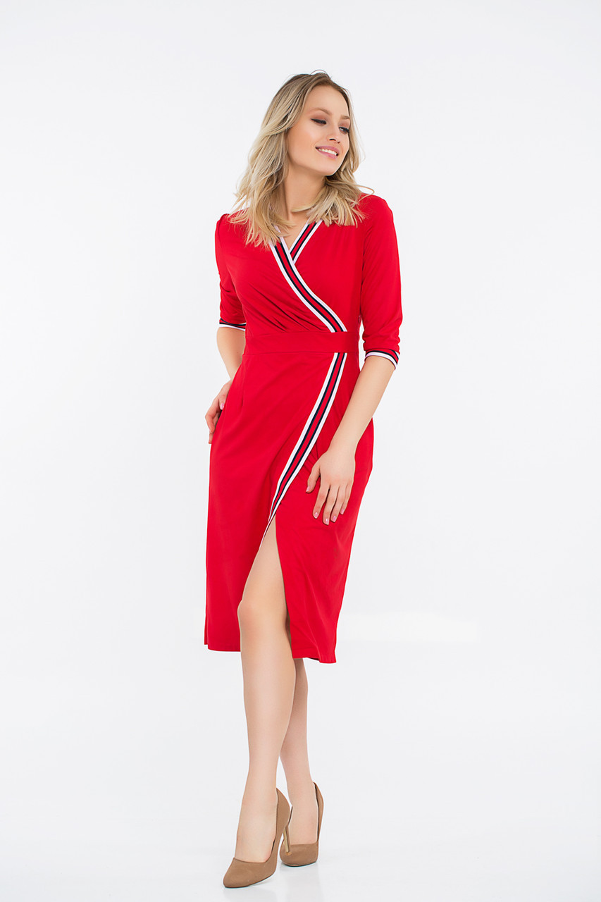 Платье LiLove 42-553 44-46  красный