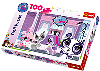 Пазл Trefl 100 ел.   Маленький зоомагазин/Littlest Pet Shop