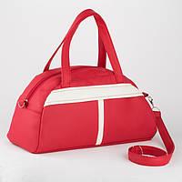 Спортивная сумка Kotico Sport 43х23х16 см красно-белая флай   , фото 1
