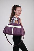 Спортивная сумка Kotico Sport 43х23х16 см фиолетово-белая флай   , фото 1