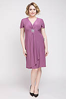 Стильное женское платье летнее трикотаж масло большого размера 50-60 р 5 цветов на выбор