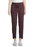 Женские оригинальные бордовые спортивные штаны Calvin Klein