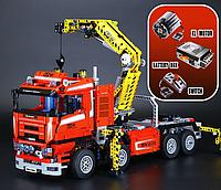 Конструктор Lepin 20013 «Грузовой кран» (аналог Lego Technic 8258), 1877 дет