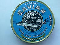 Икра чёрная малосольная осетровая 500 г. Russian caviar Astrakhan