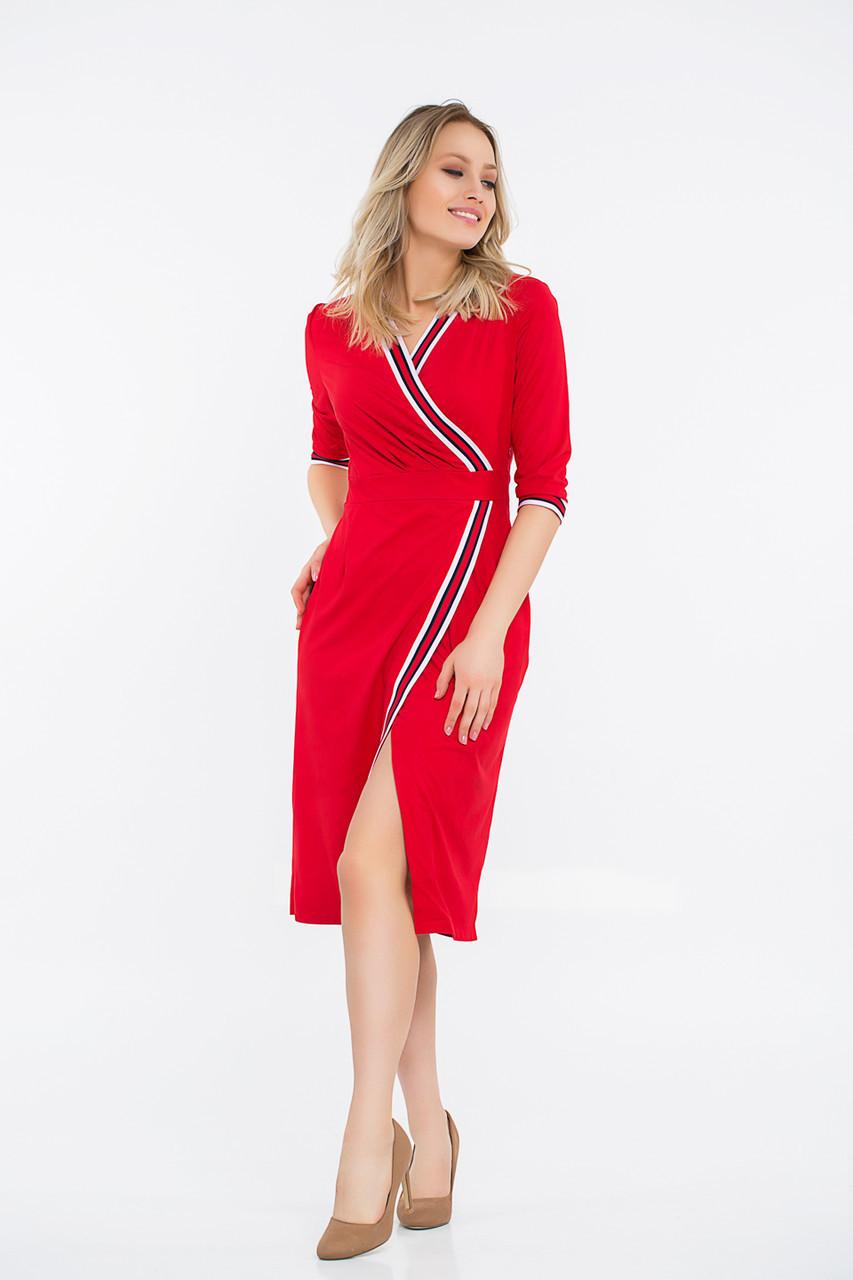 Платье LiLove 42-553 56-58 красный