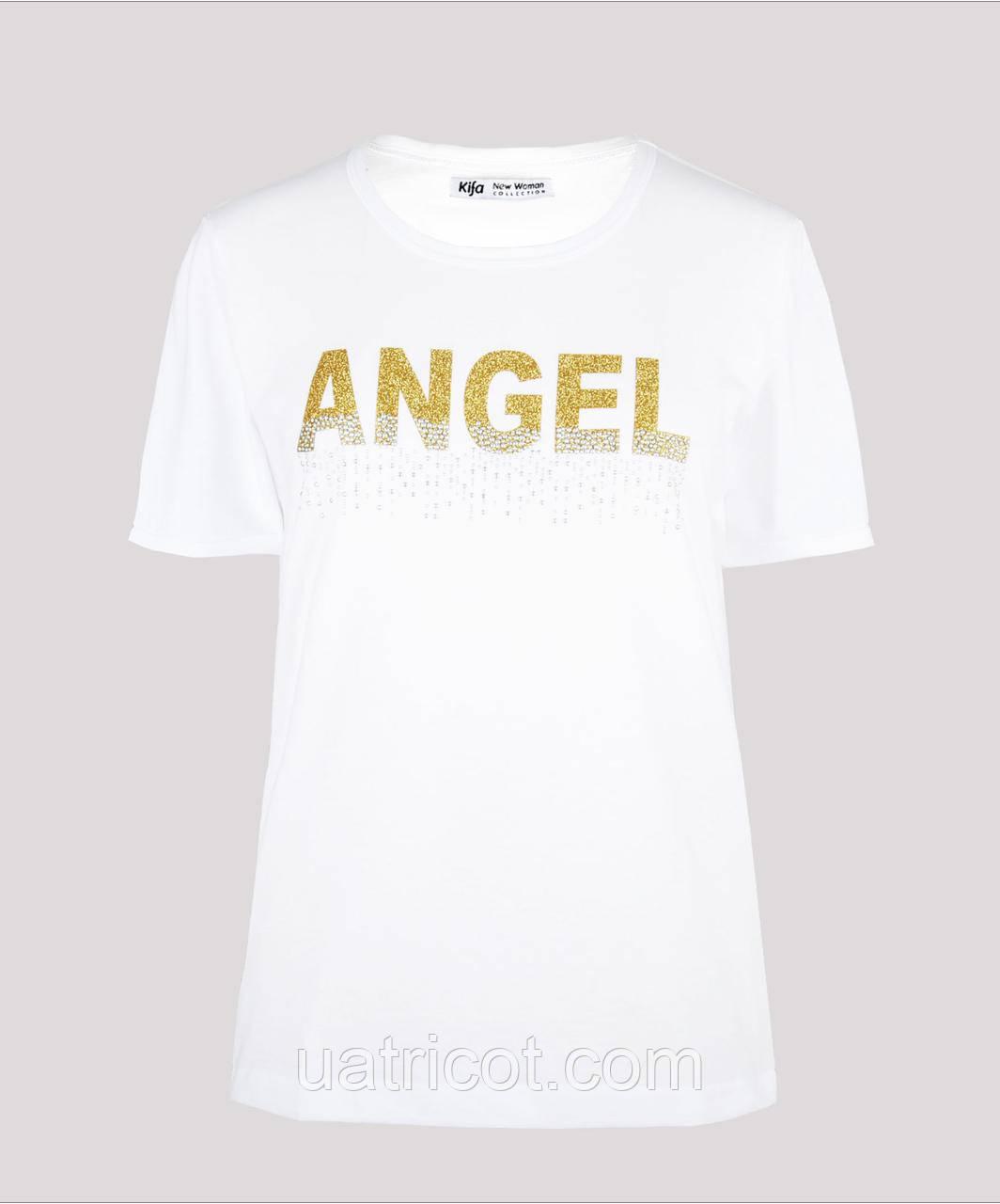 Футболка женская KIFA ФЖ-017/30 ANGEL белая