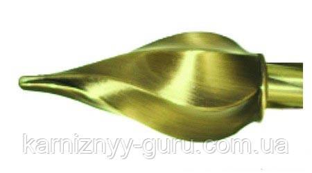 Декоративный наконечник Твисто 25ø