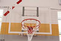 Баскетбольный щит тренировочный размером 1200х900ммиз оргстекла 8 мм с антивибрационной металлической рамой