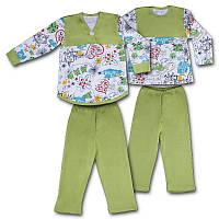 Детская пижама, на рост - 116 см. (арт: 948)