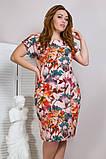 Легкое летнее женское платье,ткань супер софт,размеры:50,52,54,56., фото 2