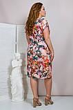 Легкое летнее женское платье,ткань супер софт,размеры:50,52,54,56., фото 3