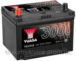 Аккумулятор автомобильный Yuasa SMF 50AH L+ 530А YBX3113