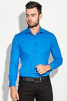 Рубашка мужская классическая 482F001 (Васильковый)