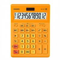 Калькулятор Casio 12 разрядный оранжевый