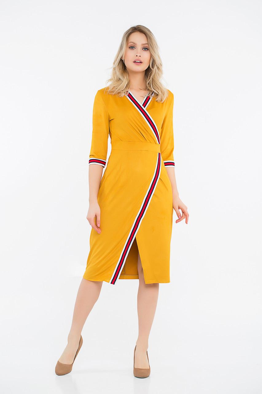 Платье LiLove 42-553 48-50 желтый