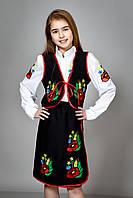 Детский украинский  костюм для девочки