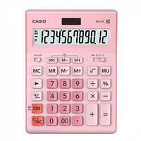 Калькулятор Casio 12 разрядный розовый