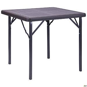 Стол складной АМФ Фиат пластиковый квадратный 78х78 см