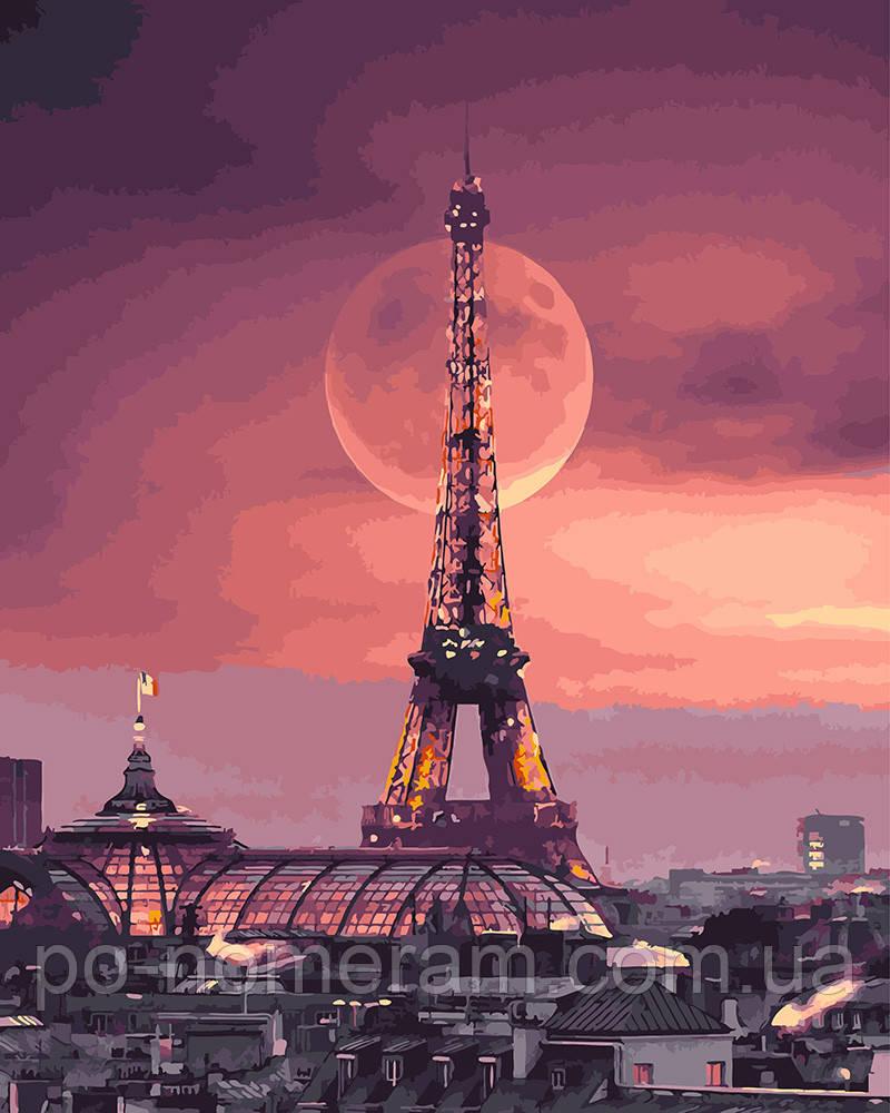 Картина по номерам Магический Париж (BK-GX27959) 40 х 50 см (Без коробки)