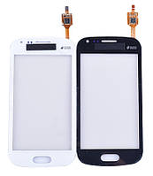 Сенсорный экран тачскрин для Samsung S7562 Galaxy S Duos/S7560 Galaxy Trend, белый, оригинал PRC