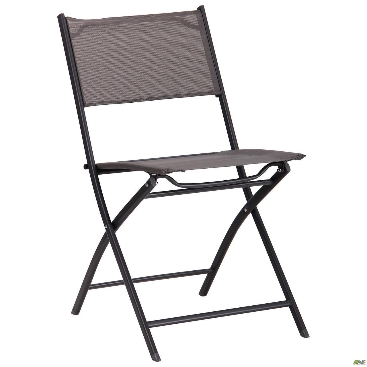 AMF / Складной металлический стул АМФ Linda т.серый серый