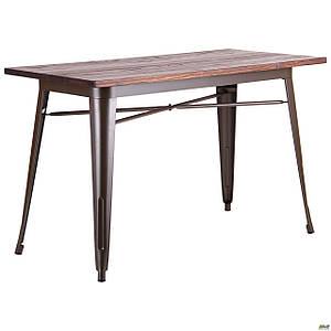 Стол обеденный AMF Zeppelin прямоугольный 120х60 см для кафе ресторана