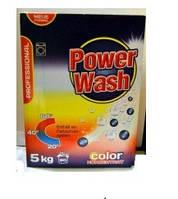 """Немецкий стиральный порошок-концентрат """"Power Wash Professional"""" 5 кг (для цветных вещей)"""