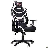 Геймерсоке кресло Амф VR Racer Expert Virtuoso черный-белый кожзам