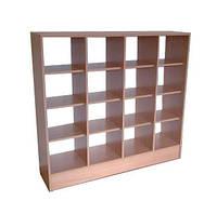 Шкаф для горшков на 16 секций