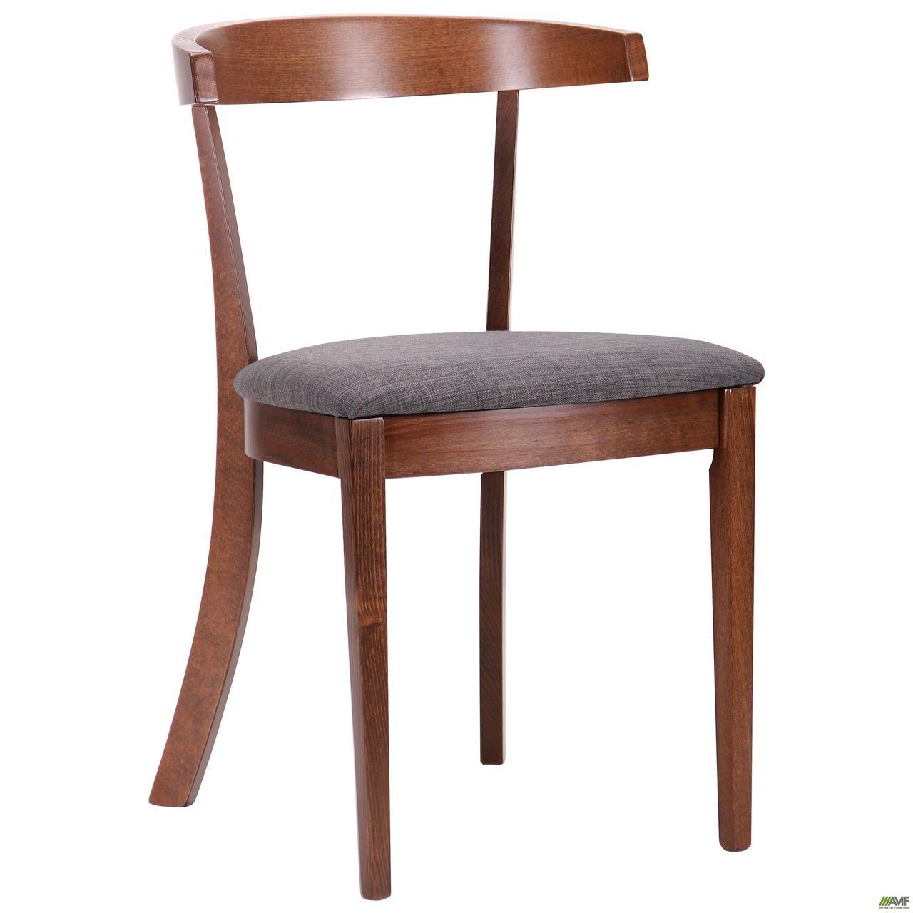 Деревянный стул AMF Гилфорд орех светлый-графит для гостиной