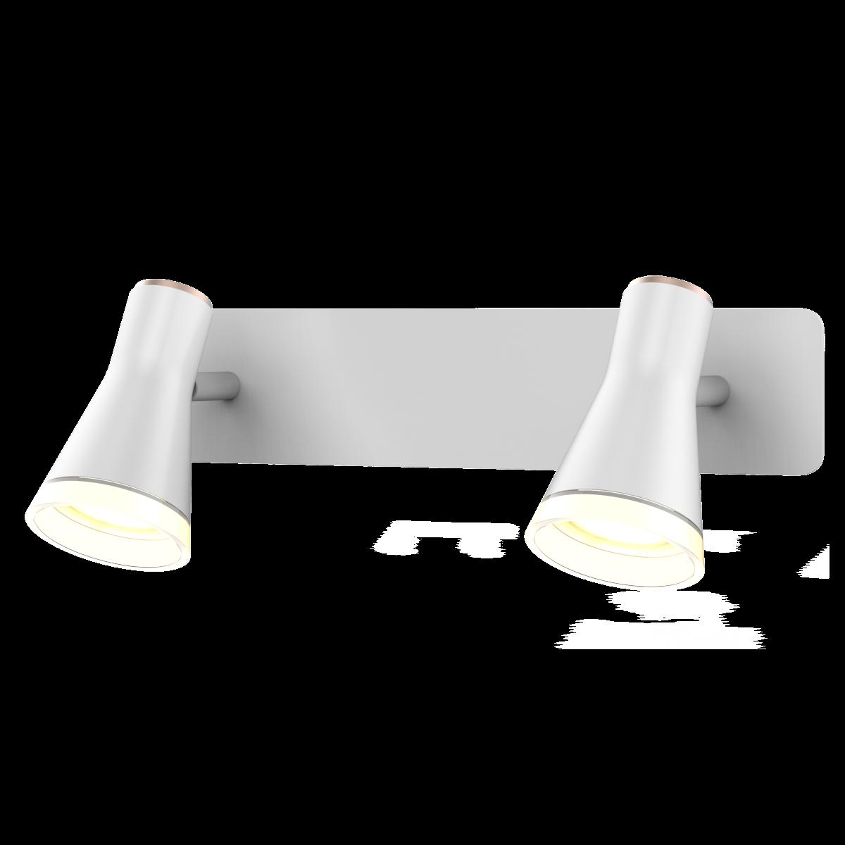 Спотовий світлодіодний світильник (бра) MAXUS MSL-02W 2x4W 4100K Білий