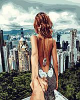 Картина по номерам Следуй за мной Сингапур (PGX22061) 40 х 50 см Brushme Premium