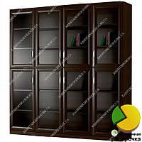 Книжный шкаф для гостиной Ш: 2000 мм, Г: 320 мм, В: 2300 мм