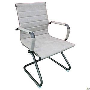 Офисное кресло AMF Slim Gun CF Wax Light Grey